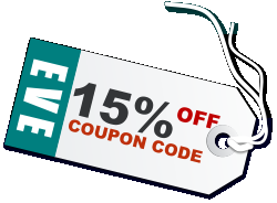 EVE 15% COUPON CODE OFF